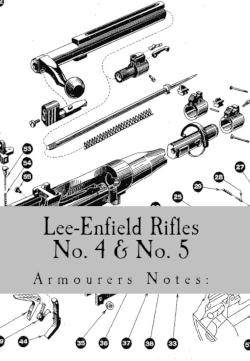 Lee-Enfield #4 armourers notes cover