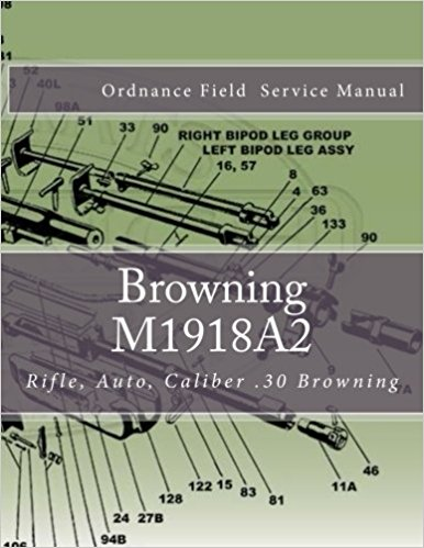Browning Automatic Rifle book COVER