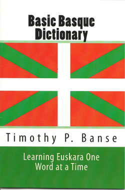 Euskara language  book cover