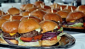 A tray of sliders!