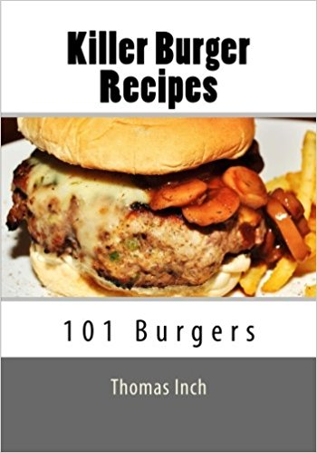 Killer Burger Recipes book cover