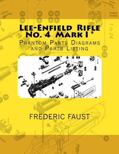 Lee-Enfield Rifle Number 4 Mark I* parts diagram