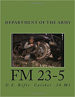 m1 garand fm 23-5 manual cover