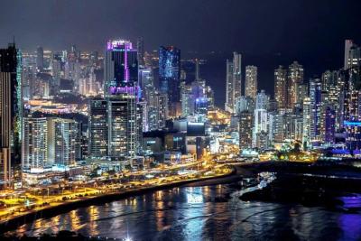 Panama City, Panama Nightscape