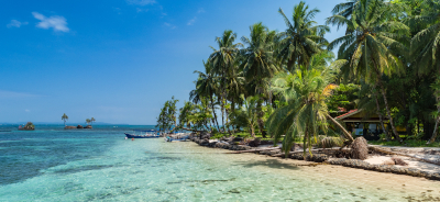 Republica de Panama, Playa Zapatilla