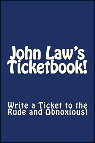 John Law's Ticketbook book cover